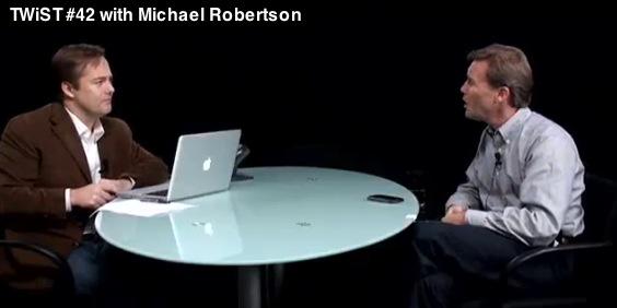 Jason Calacanis and Michael Robertson TWIST 42